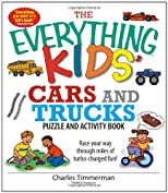 The Everything Kids' Cars and Trucks Puzzle and Activity Book