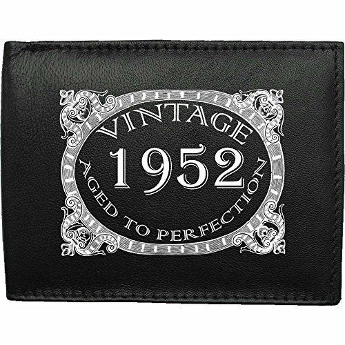 1952-millsime-mri-g--la-perfection-Portefeuille-Pour-Hommes-En-Cuir-Noir-cuir-velours-cadeau-prsent-humour-plaisanterie-blague-plaisanterie-drle-humoristique