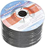 Silverline 224514 Metal Grinding Discs Depressed Centre, 115 x 6 x 22.2 mm - Pack of 10