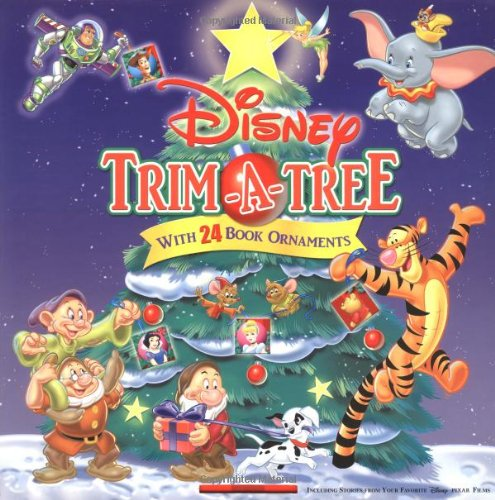 Disney Trim-A-Tree: With 24 Book Ornaments