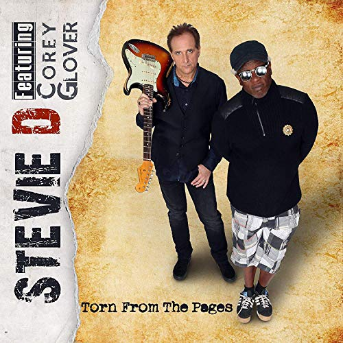 CD : STEVIE D. / GLOVER,COREY - Torn From The Pages