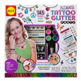 ALEX Toys Spa Ultimate Glitter Tattoo Party Craft Kit