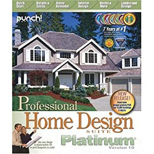 Punch! Professional Home Design Platinum V 10.0