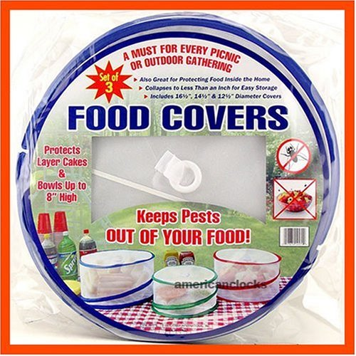 Buy Pop Up Mesh Food Covers Set Of 3
