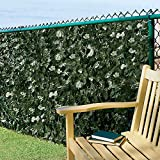 "Faux Ivy Privacy Screen-58""H x 9'9""W - Improvements"
