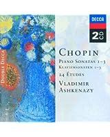 Chopin: Piano Sonatas Nos. 1 - 3; 24 Etudes; Fantaisie in F minor (2 CDs)