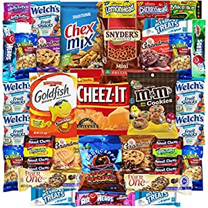 Snacks Care Package Gift Assortment (40 Count)