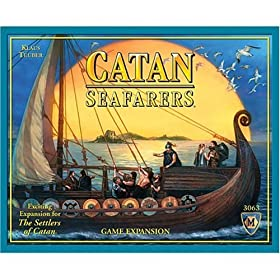 Settlers of Catan Seafarers expansion!