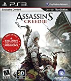 Assassin's Creed 3 - PlayStation 3 Standard Edition