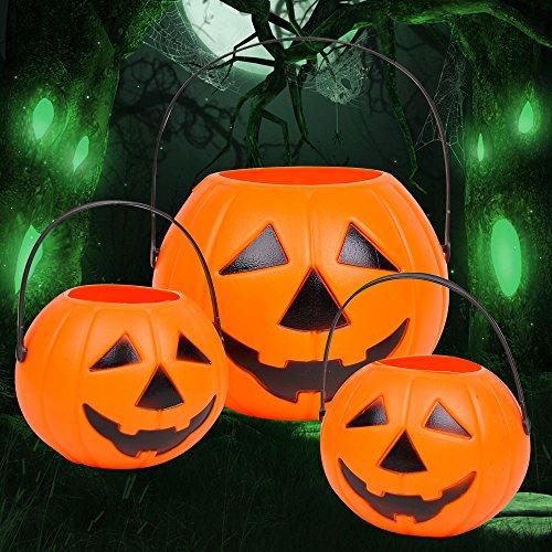 [Halloween Pumpkin Bar Dressed Up For Halloween Candy Jar Mobile Pumpkin Bucket Pumpkin Jars,Small Pumpkin] (Animals Dressed Up In Halloween Costumes)