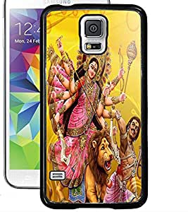 ColourCraft Maa Sherawali Design Back Case Cover for SAMSUNG GALAXY S5
