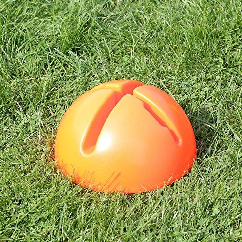 Bild von: Kombi-X-Fuß in 4 Farben, für Agility - Hundetraining (orange)