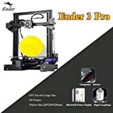 Ender 3 Pro 3D Printer 220x220x250mm with UL Certified Meanwell Power Supply and Upgrade Magnetic Build Surface Plate