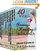 #9: Mail Order Bride Mega 10 Book Box Set: 10 Book Summer Reading Bonanza: Clean Historical Western Romance Book Bundle