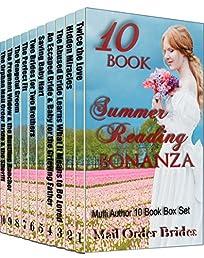 Mail Order Bride Mega 10 Book Box Set: 10 Book Summer Reading Bonanza: Clean Historical Western Romance Book Bundle