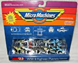 Micro Machines WWII Fighter Planes #23 Collection