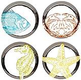 Jonathan Adler Aquatica Coaster Set