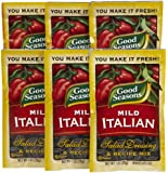 Good Seasons Salad Dressing & Recipe Mix, Mild Italian, 1 oz, 6 pk