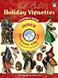 Full-Color Holiday Vignettes CD-ROM and Book