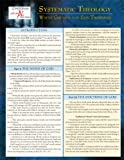 Systematic Theology Laminated Sheet (Zondervan Get an A! Study Guides)