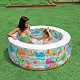 Intex Inflatable Kids Swimming Pool For Kids In Round Shape #58480