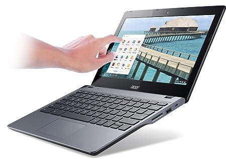 """Acer C720P Ordinateur Portable 11.6 """" Chrome OS Gris"""