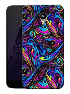 """Psychedelic Trippy Art Printed Designer Mobile Back Cover For """"Google Infocus M2 Note"""" By Humor Gang (3D, Matte Finish, Premium Quality, Protective Snap On Slim Hard Phone Case, Multi Color)"""