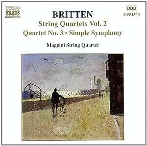 Britten : Quatuors à cordes, Vol. 2