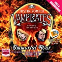 Vampirates: Immortal War Audiobook by Justin Somper Narrated by Daniel Philpott