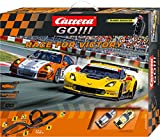 Carrera GO!!! - Circuito Race for Victory, con Porsche 911 GT3 Hybrid y Chevrolet Corvette C7.R No.3 (20062369)