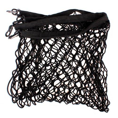 Black Car Trunk Rear Tail Elastic Mesh Nylon Cargo Net With 4 Hooks front-303651