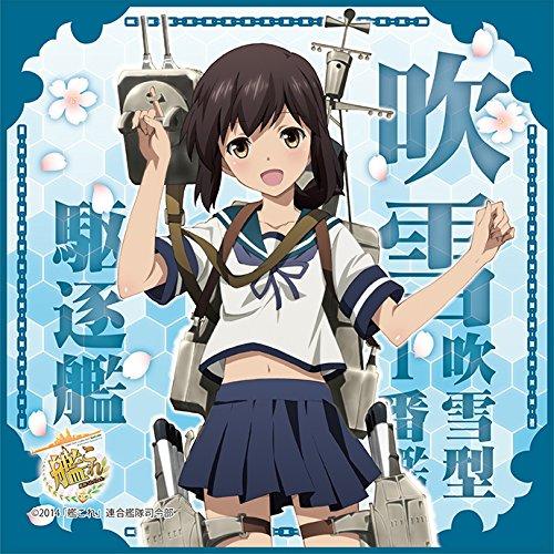 TVアニメ艦隊これくしょん-艦これ-マイクロファイバーミニタオル駆逐艦吹雪