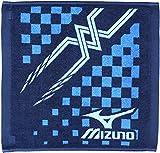 (ミズノ)MIZUNO トレーニングウエア ハンドタオル [ユニセックス] 32JY6107 14 ネイビー×ディーバブルー F