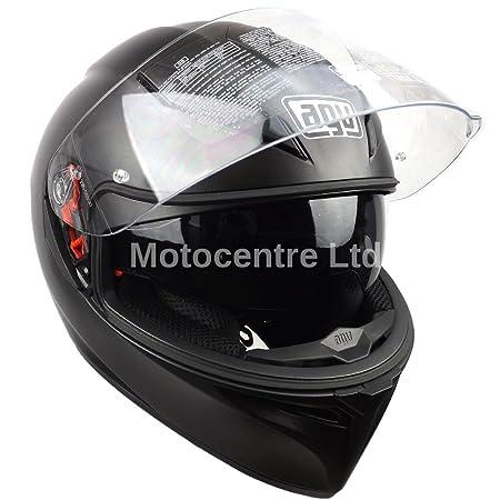 Nouveau casque de moto Matt Black 2015 AGV K3 SV