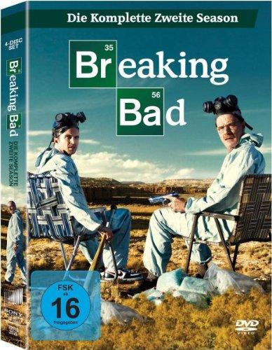 Breaking Bad - Die komplette zweite Season (2 Digipaks im Schuber) [4 DVDs]