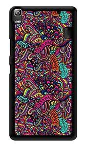 "Humor Gang Super Trippy Neon Color Printed Designer Mobile Back Cover For ""Lenovo k3 note - Lenovo A7000 - Lenovo A7000 Plus - Lenovo A7000 Turbo"" (3D, Glossy, Premium Quality Snap On Case)"