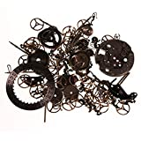 Steampunk 10g Vintage Aged Pocket Watch Parts Pieces For Altered Art And Crafts By Kurtzy TM
