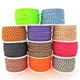 Paracord Planet Micro Cord: 1.18mm Diameter 125 Feet Spool of Braided Cord - Available in a Variety of Colors, Made in the USA