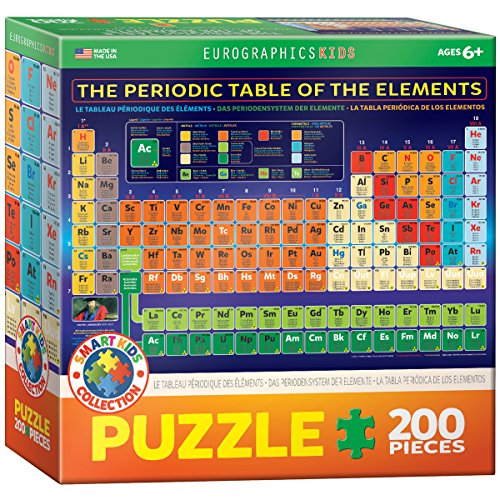 EuroGraphics Periodic Table of Elements Jigsaw Puzzle (200-Piece)