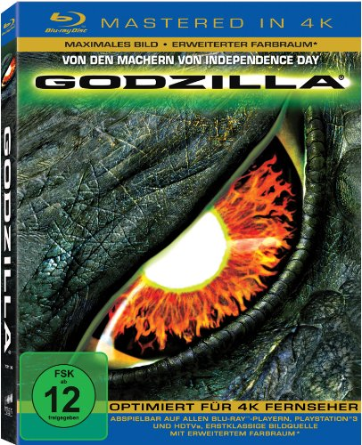 Godzilla  (Mastered in 4K) [Blu-ray]
