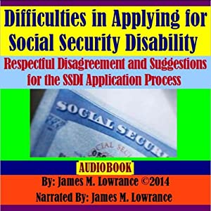 Difficulties in Applying for Social Security Disability Audiobook
