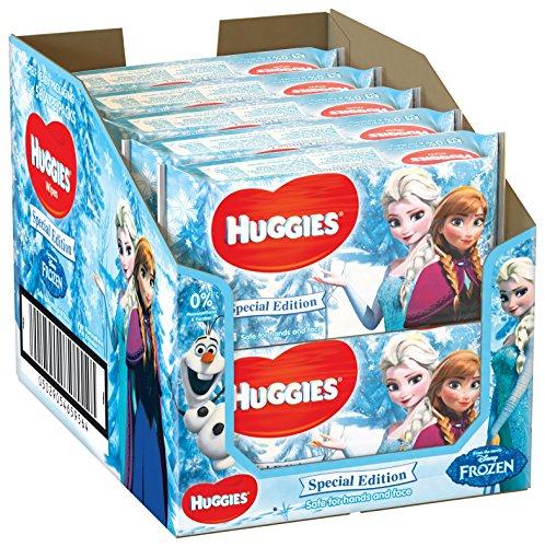 Huggies - Toallitas húmedas edición especial Disney, dibujos surtidos, 10 x 56 toallitas (1 paquete) 7.09€
