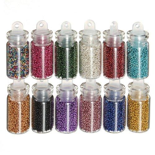 12-mini-flaconi-di-piccole-perline-sferiche-brillanti-per-manicure-nail-art-e-decorazioni