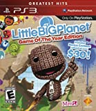 61xQZU5QO1L. SL160  LittleBigPlanet   Game of the Year Edition Playstation 3