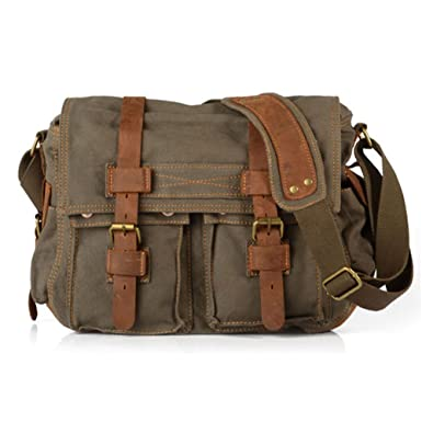 Military Green Shoulder Bag 83