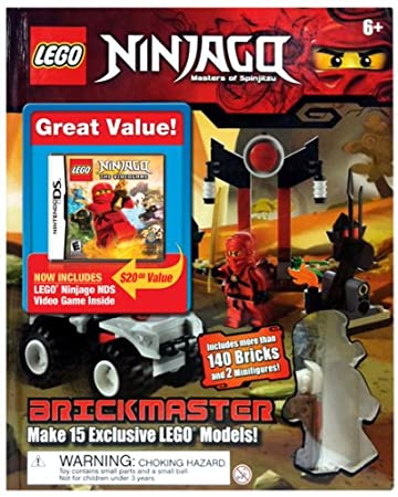 Lego Battles: Ninjago with Lego Ninjago Set - Nintendo DS