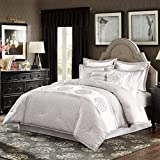 Madison Park Signature Arianne 8 Piece Comforter Set Grey Cal King