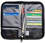 RFID Blocking Travel Passport Wallet...
