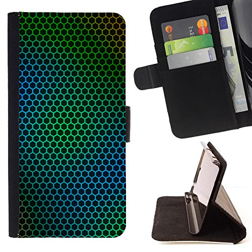 book-case-for-sony-xperia-m4-aqua-steel-green-net-folio-pu-wallert-leather-case