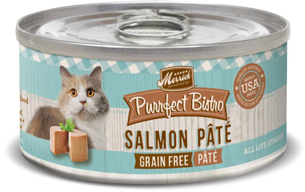 Merrick Purrfect Bistro Grain Free Salmon Pâté